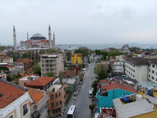 Adamar Hotel : Вид с терассы