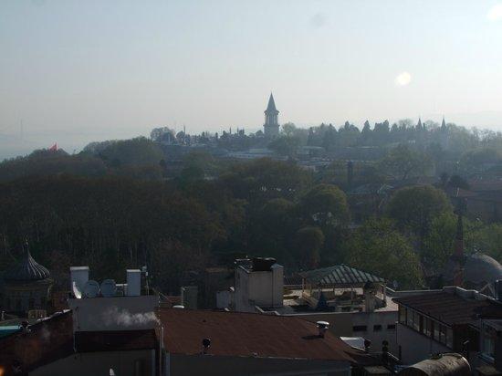 Adamar Hotel: Вид с терассы