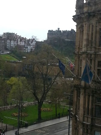 The Old Waverley Hotel: View from room 2