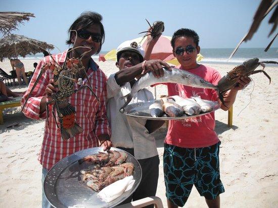 Sam's Goan Beach Shack: Fish