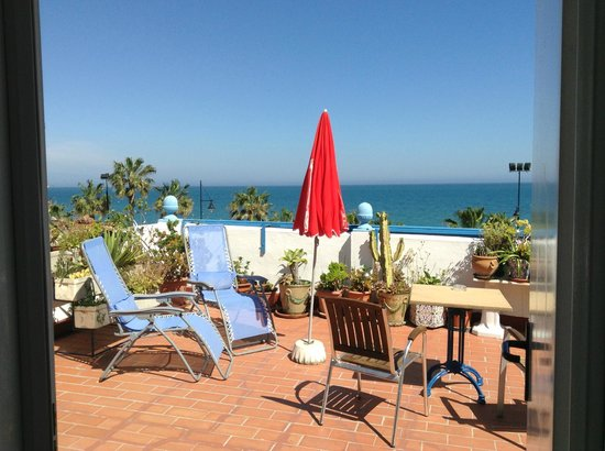 Hostal Guadalupe: Terrace