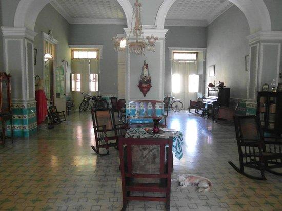 Casa Carlos Gil Lemes: Eingangsbereich
