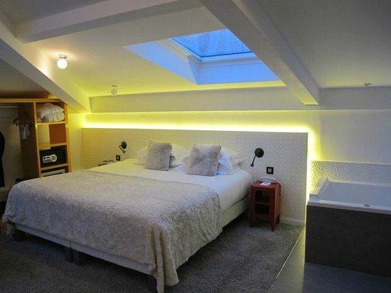 Hotel Georgette : Top floor deluxe room