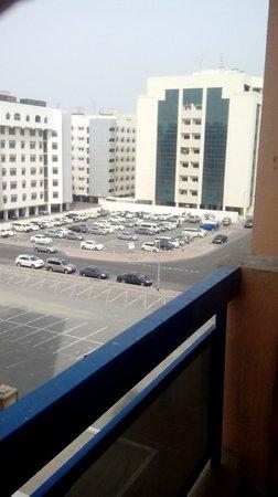 Panorama Hotel Bur Dubai: Вид из номера