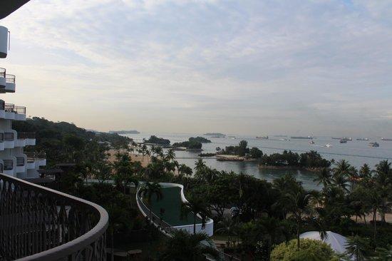 Shangri-La's Rasa Sentosa Resort & Spa : View from the Room