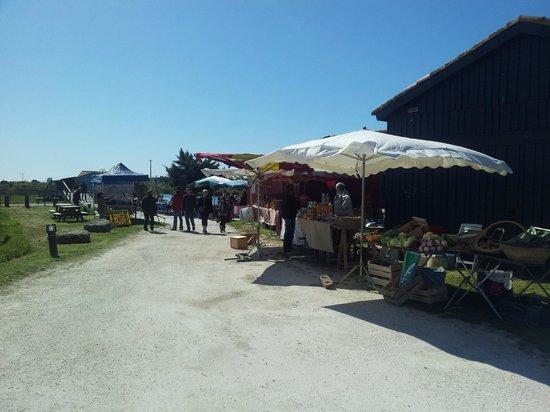 Le Port des Salines : Le marché