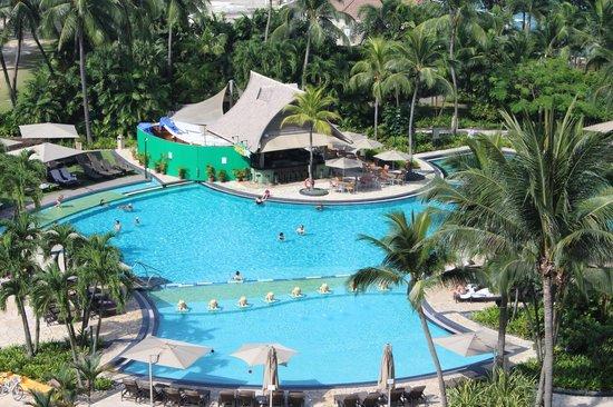 Shangri-La's Rasa Sentosa Resort & Spa: View from the Room