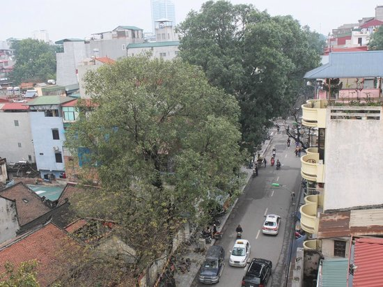 Hanoi Charming 2 Hotel : View from Room