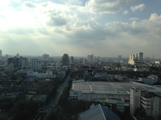 Siam@Siam Design Hotel Bangkok : View from the 25th floor during the day