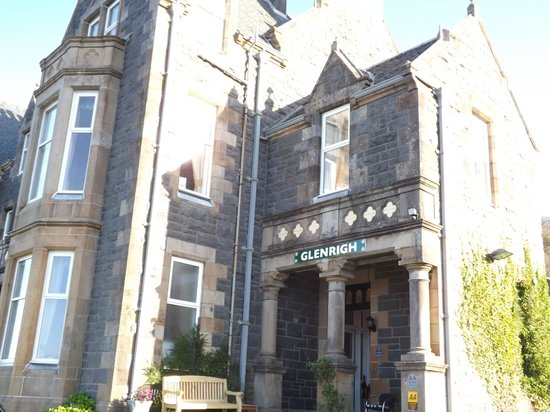 Glenrigh Guest House: hotel front