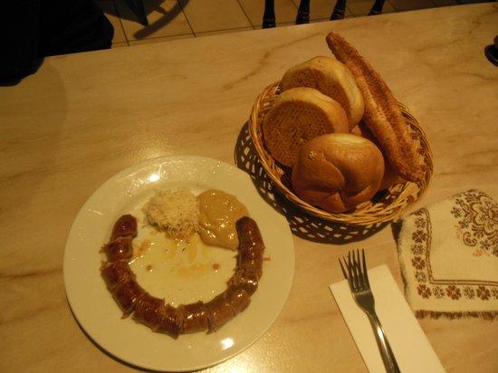 Gasthaus Elsner: Delicius homemade sausage!