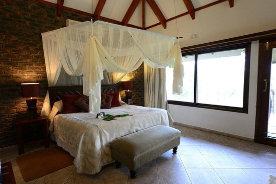 Idube Private Game Reserve Lodge : Himmelbett