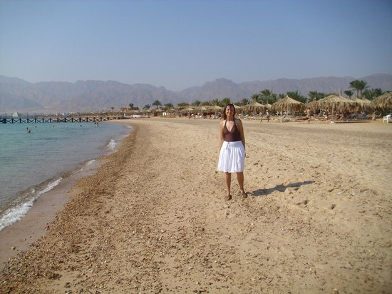 Nuweiba Coral Resort: Private Beach at Coral Hilton