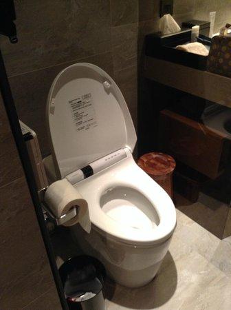 Madison Taipei Hotel: Automatic toilet system