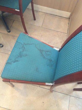Vivaldi Hotel : Las sillas del lobby