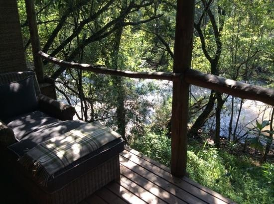 Summerfields Rose Retreat & Spa : view from our deck