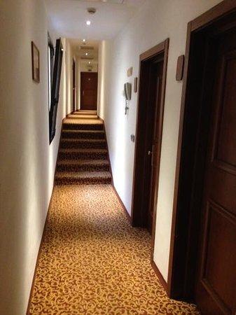 Hotel Atlantic Palace: Corridoio