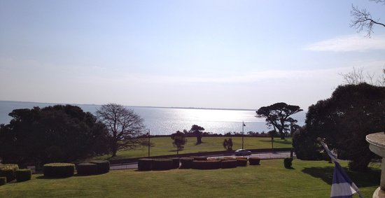 The Haven Hotel: The view from room 4