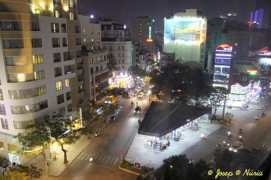 New World Saigon Hotel: Vistas desde la habitación - View from our room