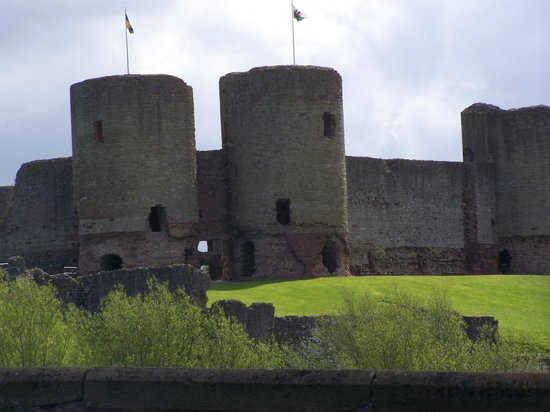 Rhuddlan Castle: le chateau