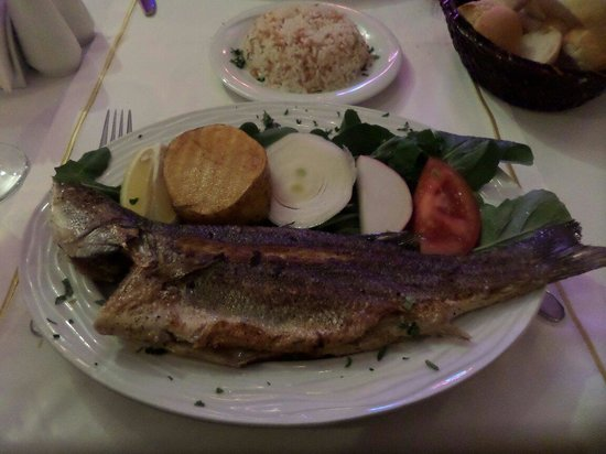 Sultanahmet Fish House : Yummy fish