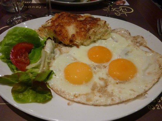 La Chope : Un plat