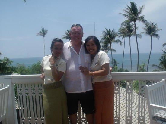 Centara Villas Samui: hotel staff