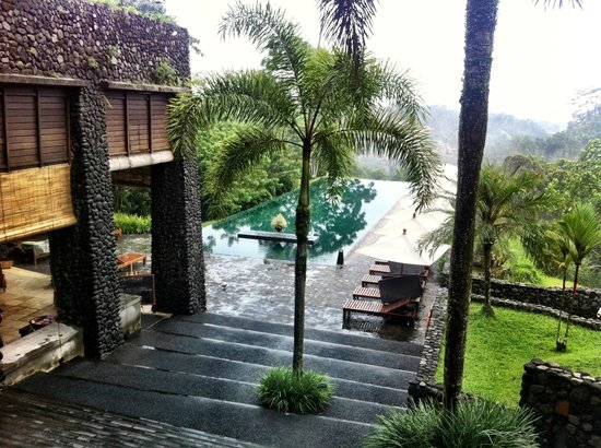 Alila Ubud : View from pool.