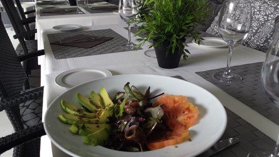 Greys Sitges: Avocado salad
