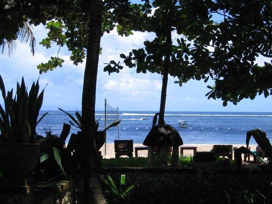 Novotel Bali Benoa: uitzicht vanuit de cabin