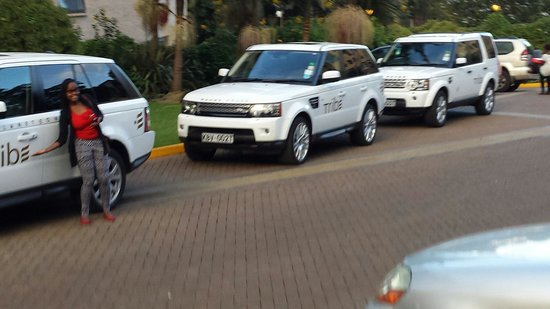 Tribe Hotel: Guess what you get to travel In at Tribe, RANGE ROVERS!!