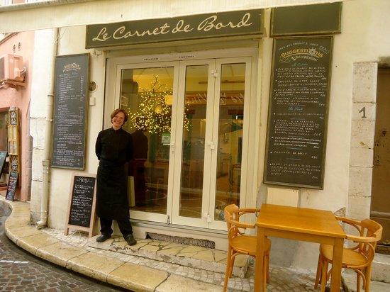 Restaurant Rue James Close Antibes
