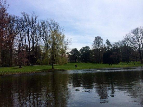 Longwood Gardens : Pond