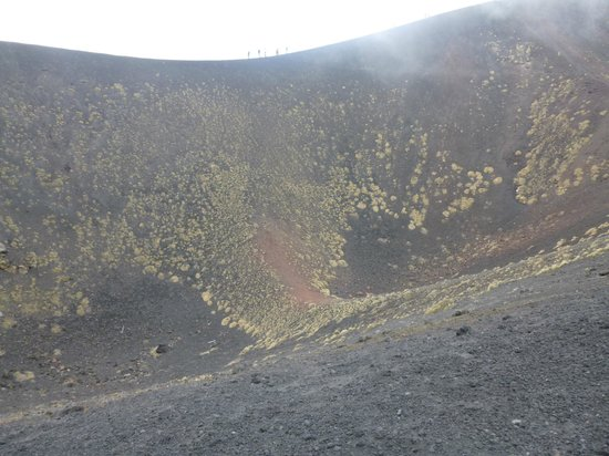 Etna Experience Excursions: Another crater