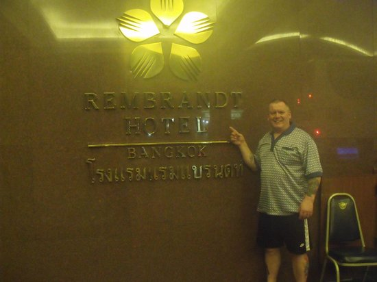 Rembrandt Hotel Bangkok: the hotel front