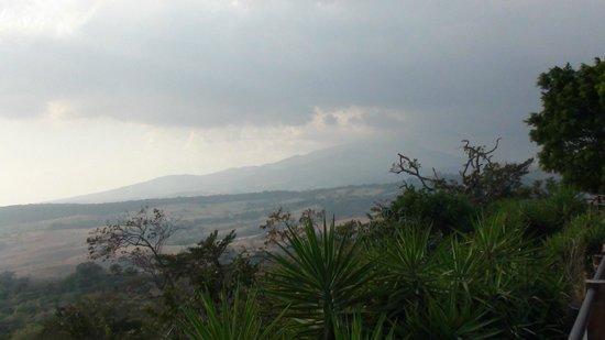 uitzicht aan buena vista lodge