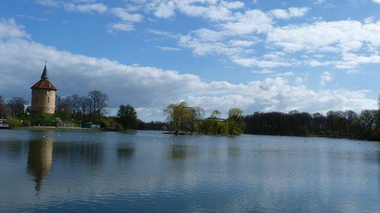 Pildammsparken : View over lake