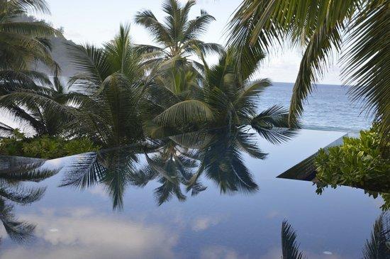 Banyan Tree Seychelles: Infinity pool