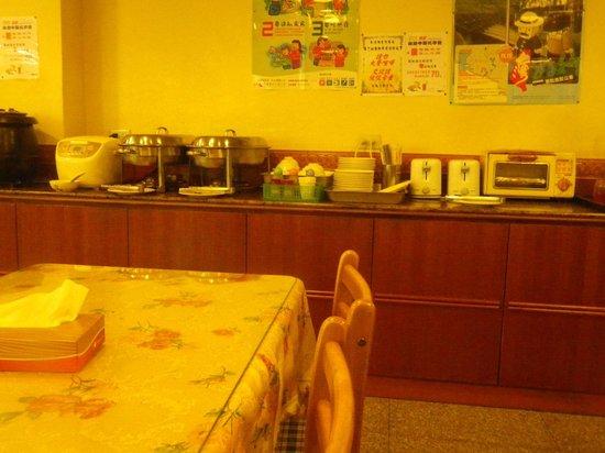 Hua Yue Hotel: 朝食で利用したレストラン