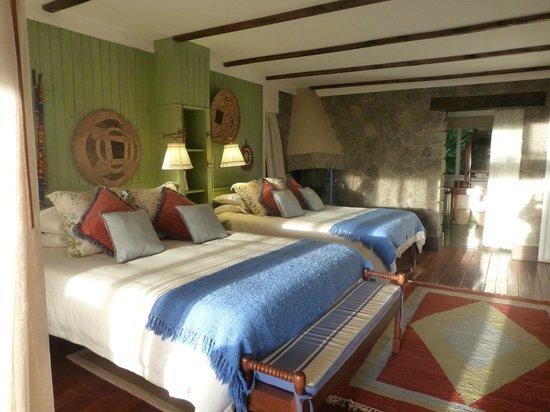 Gibb's Farm : Our room