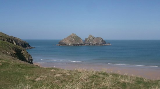 Parkdean - Holywell Bay Holiday Park: Gull rocks