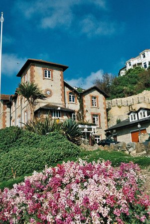 St. Augustine Villa: View looking up from small Ventnor Haven Fisheries Harbour