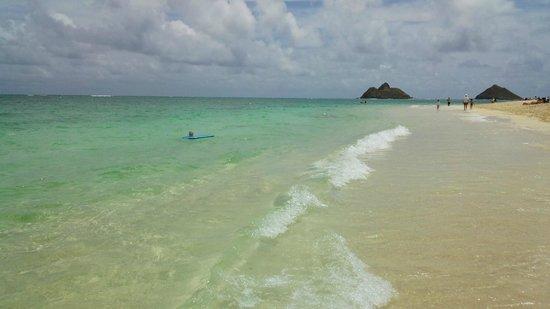 Lanikai Beach : ラニカイ