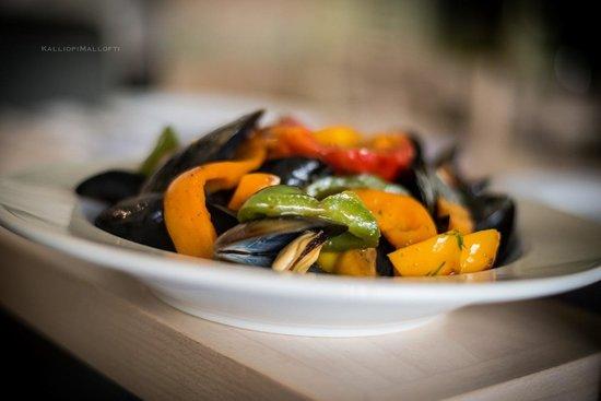 Tamam: Steamed mussels !!!