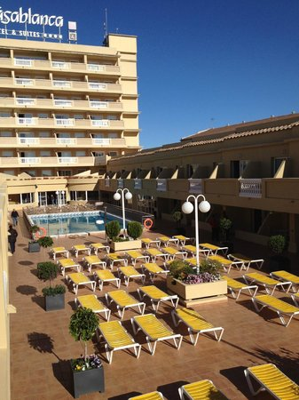 Hotel RH Casablanca & Suites : VISTA