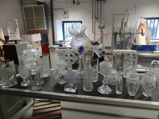 Waterford Crystal : Chrystal examples of the factory