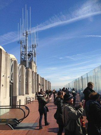 Plate-forme d'observation du GE Building : Viewing platform