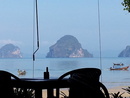 Tup Kaek Sunset Beach Resort: Breakfast view from Restuarant