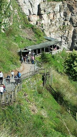 Wookey Hole Caves : cave entrance