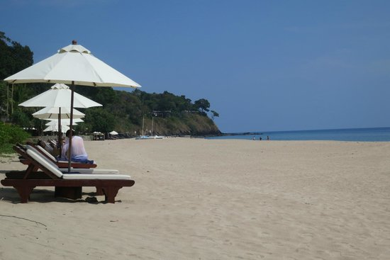 Pimalai Resort and Spa : Strand